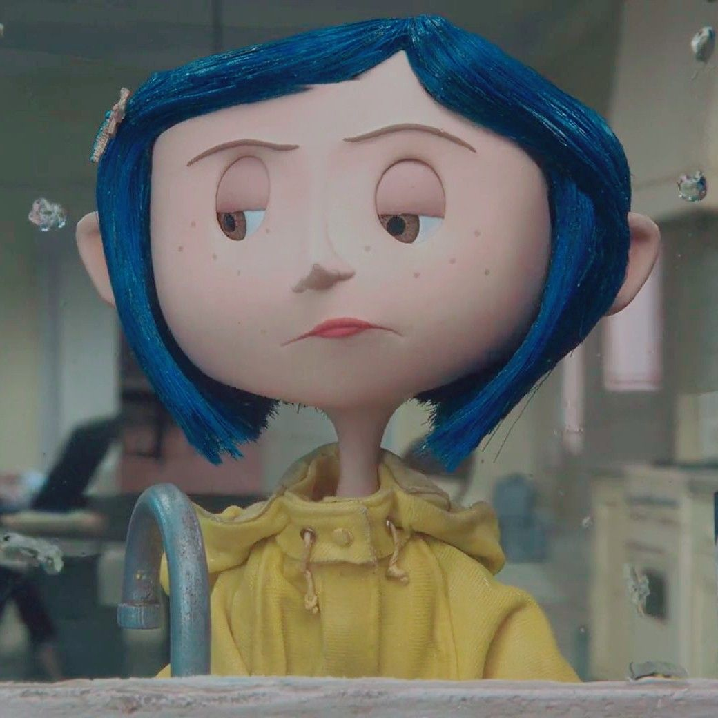 Pin de Cristel Sanchez em Aesthetic Af | Coraline jones, Cartoon cartoon,  Ícones fofos