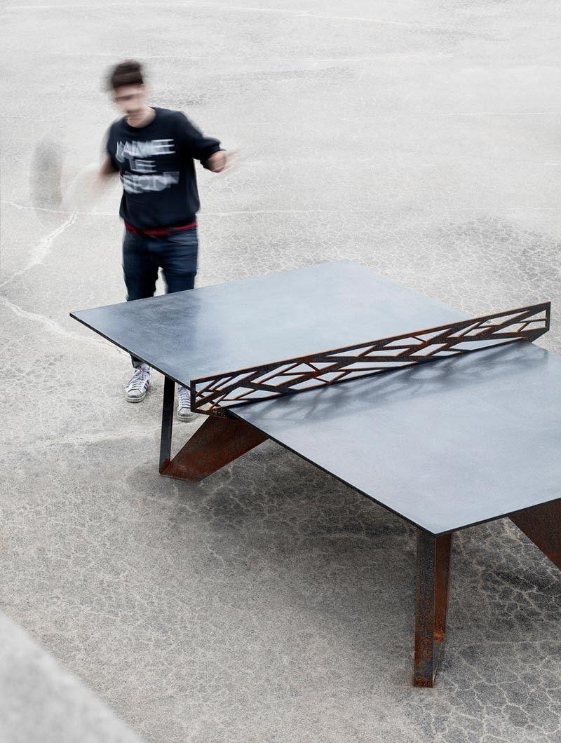 Designmk Industrial Design Pingpong Pingpongtable Sport  # Branchement Meuble Tv Hdw