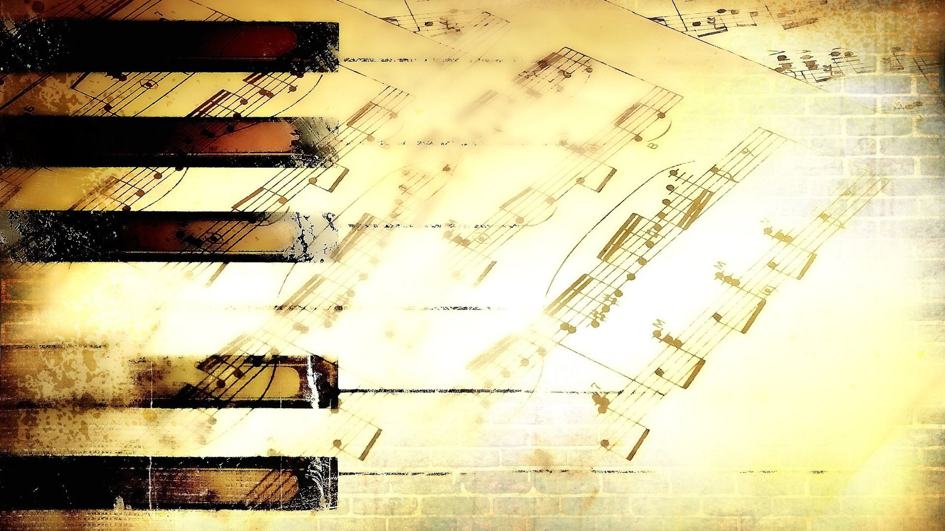 Wallpapers Music Note Notes 1920x1080 | #617700 #music note | Piano ...