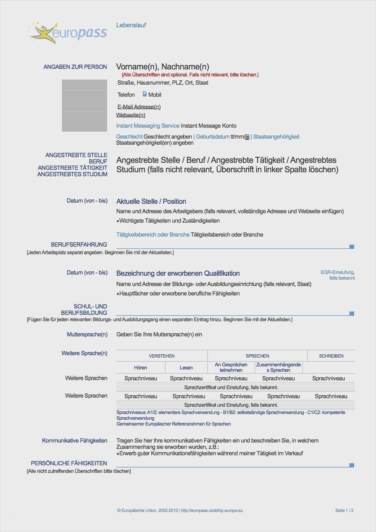 Lebenslauf Doppelte Staatsangehorigkeit Deutsch 7