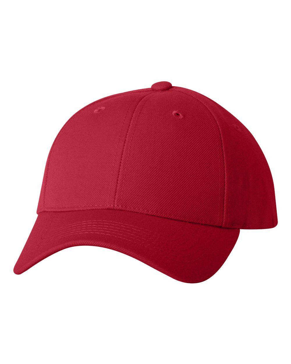 Sportsman - Wool Blend Cap - 2220 Red