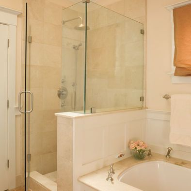 Bathroom Tub Shower Connected Design Pictures Remodel Decor And Ideas