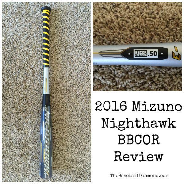 Latest in Bat Tech with the 2016 Mizuno Nighthawk BBCOR