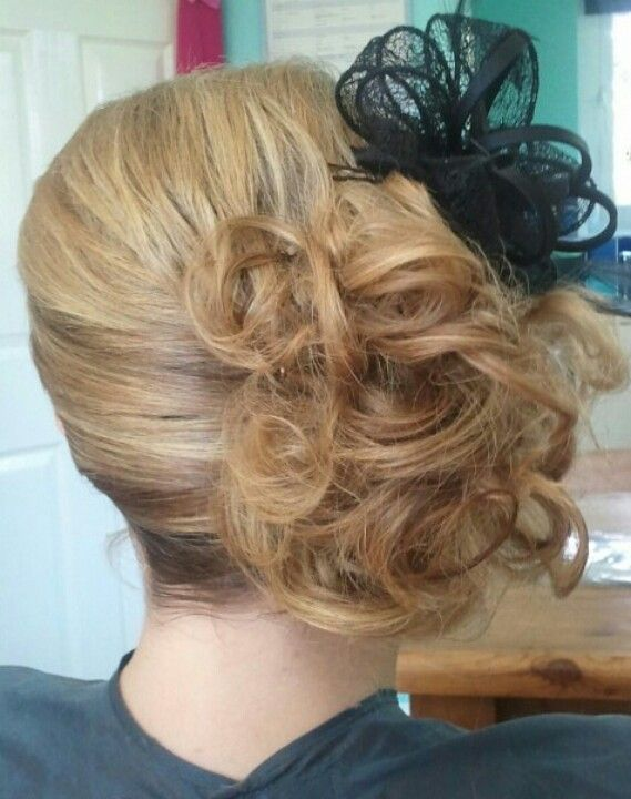 Hairstyles For Wedding Guest Wedding Guest Hair  Beauty  Pinterest  Hair Style Side Curls And