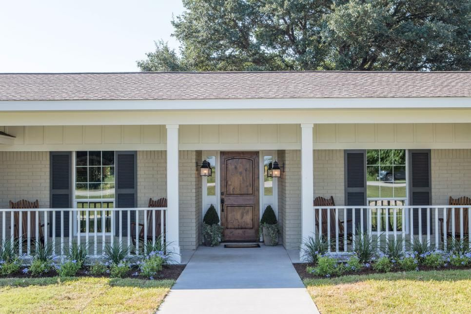 Fixer Upper A Son S Generosity Expands The Scope Of A Reno House With Porch Fixer Upper House Exterior
