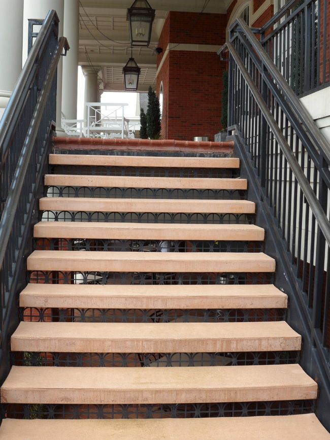 Concrete Stairecases Open Riser Stair Treads