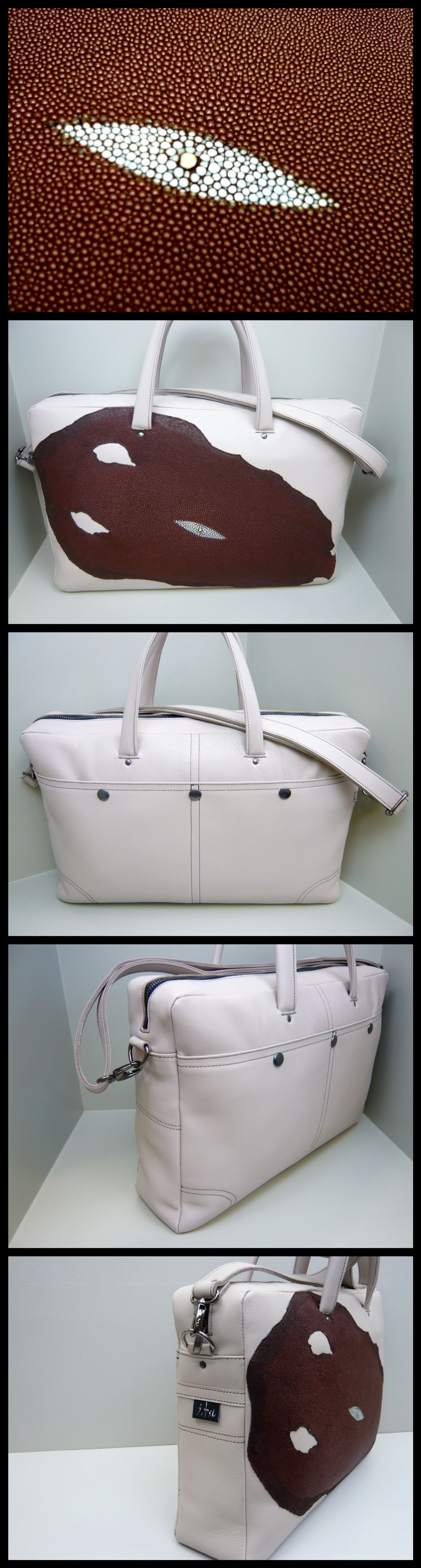 e198830d462 Roggenleer, laptoptas design by www.iratassen.nl Handmade | Design ...