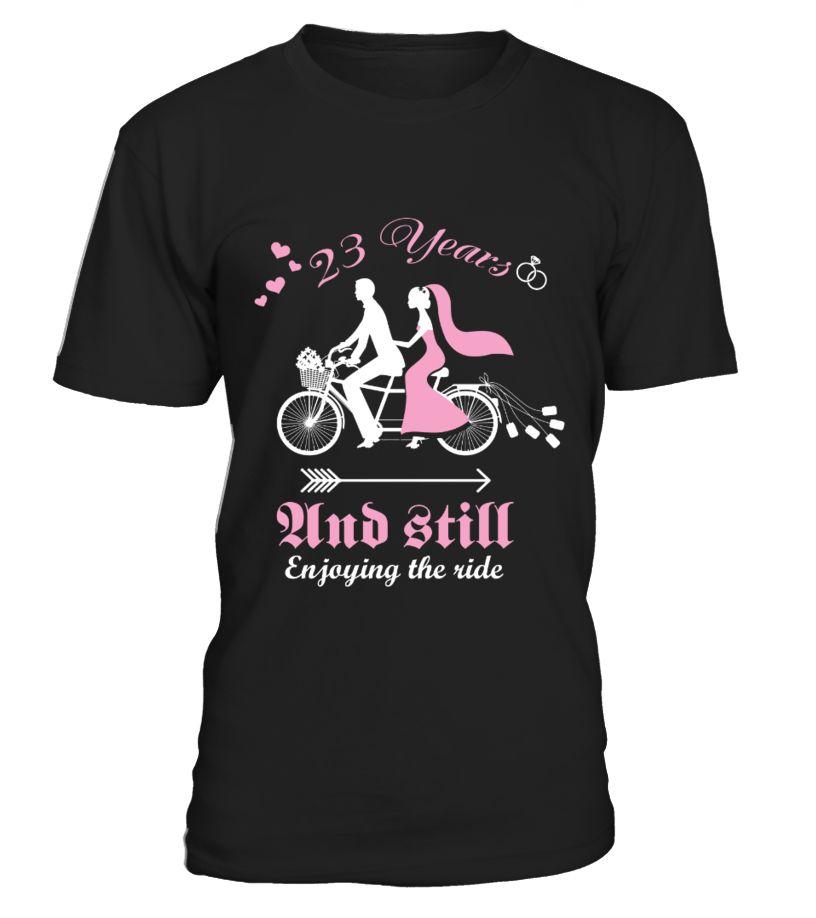 23 years wedding anniversary gift shirt