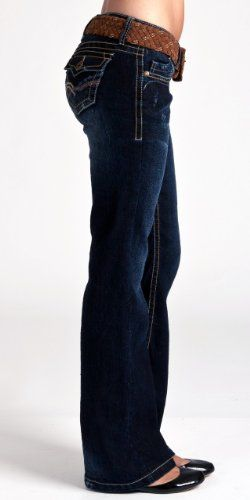 Junior bestseller In Famous Wallflower Plus Flare Jean Wash Rinse Size Vintage Belted d8APXqA