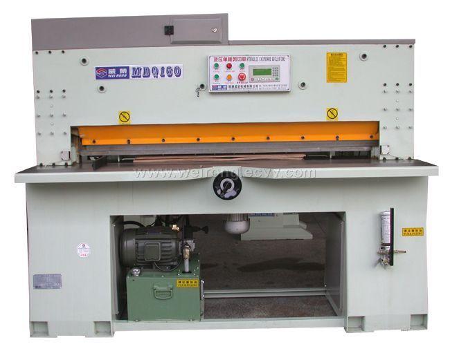 Single Wood Board Cutting/Shearing Machine (MDQ160/260/310) - China