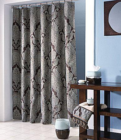 Master Bathroom Redo Croscill Royalton Shower Curtain Dillards