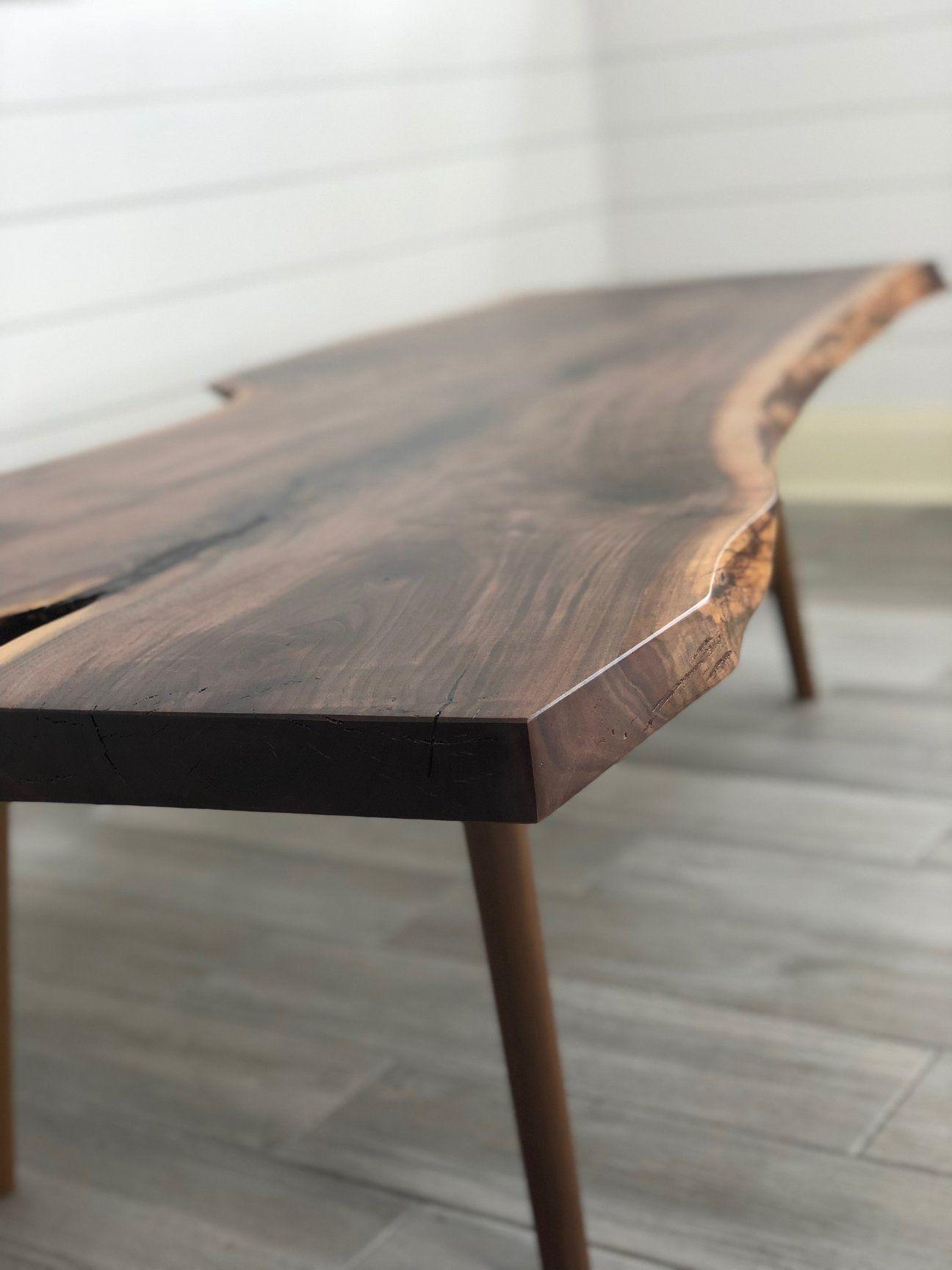 Live Edge Coffee Table Live Edge Wood Table Live Edge Coffee Table Raw Wood Coffee Table [ 1728 x 1296 Pixel ]