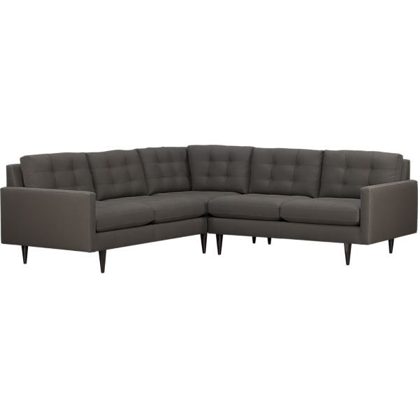 Okay Have Finally Found A Sectional Sofa I Love Petrie 2 Piece Sectional Sofa In Sec Corner Sectional Sofa 2 Piece Sectional Sofa Modern Sofa Sectional