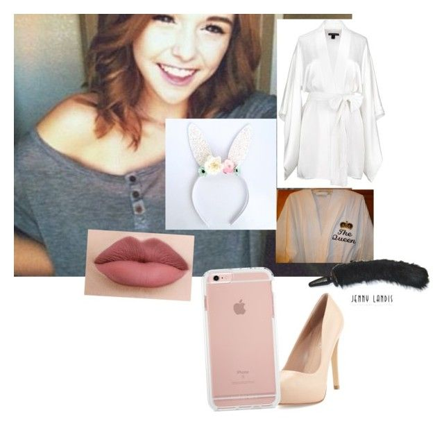 """""""* finishes openibg eggs from the easter bunby and looks up*  now daddy lets see what the easter bunny got you * giggles* ~cacia"""" by anons-dxcvi ❤ liked on Polyvore featuring Retrò, Brinley Co, Kiki de Montparnasse and Charles by Charles David"""