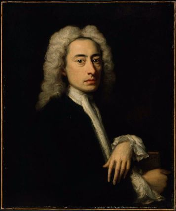 Alexander Pope about 1736 Jonathan Richardson 18th Century - know then thyself presume not god to scan