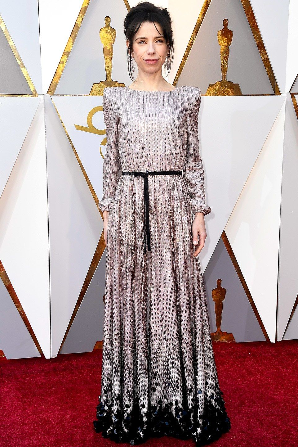 Oscars 2018 Roter Teppich Sally Hawkins In Armani Privé At The 2018 Academy Awards 2018