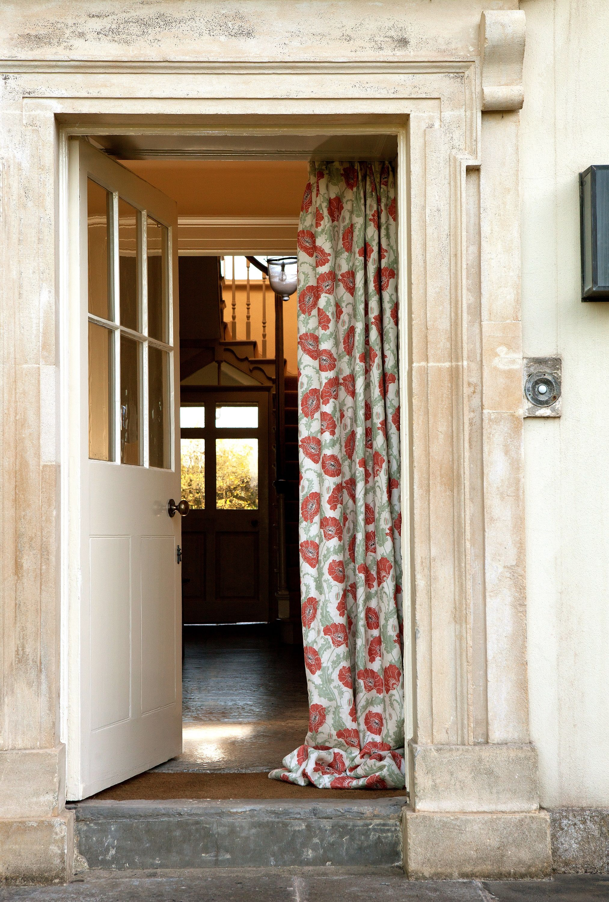 Poppies red linen country house pinterest poppy red