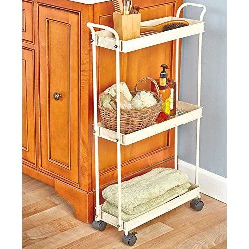 Dining Room Storage Ideas To Keep Your Scheme Clutter Free: Wicker Laundry Organizer Between Washer Dryer Drawers