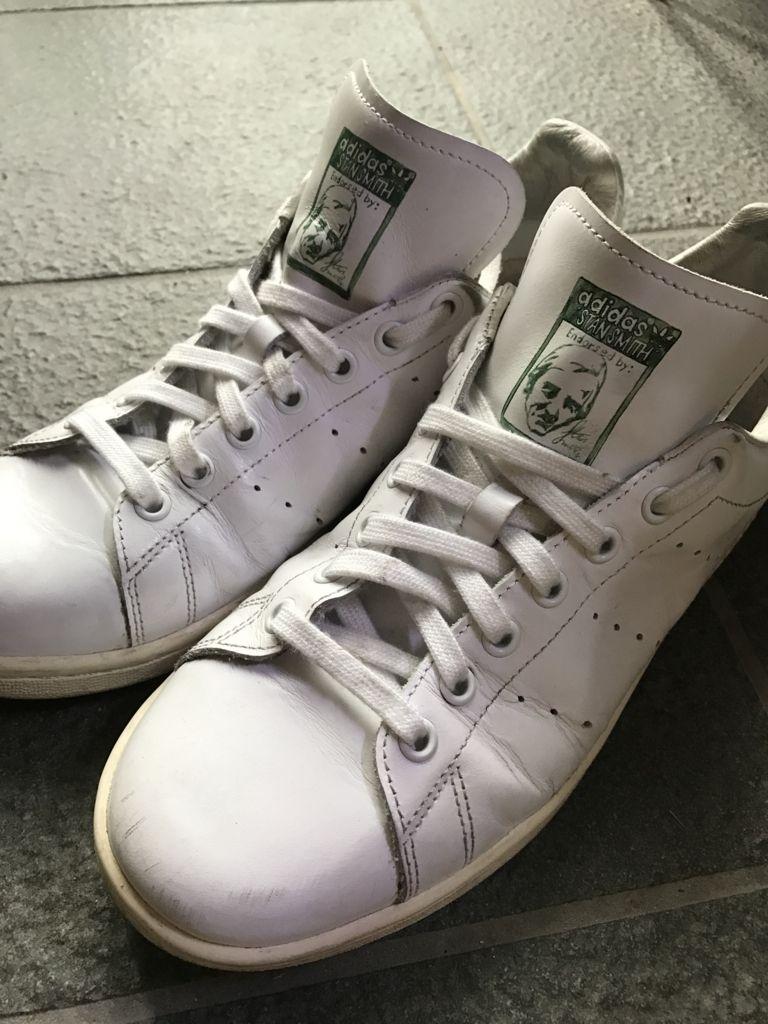 靴紐の結び目を隠すディスプレイ結びは普通オーバーラップでするが、