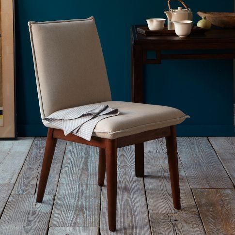 mid century modern upholstered dining chairs - google search