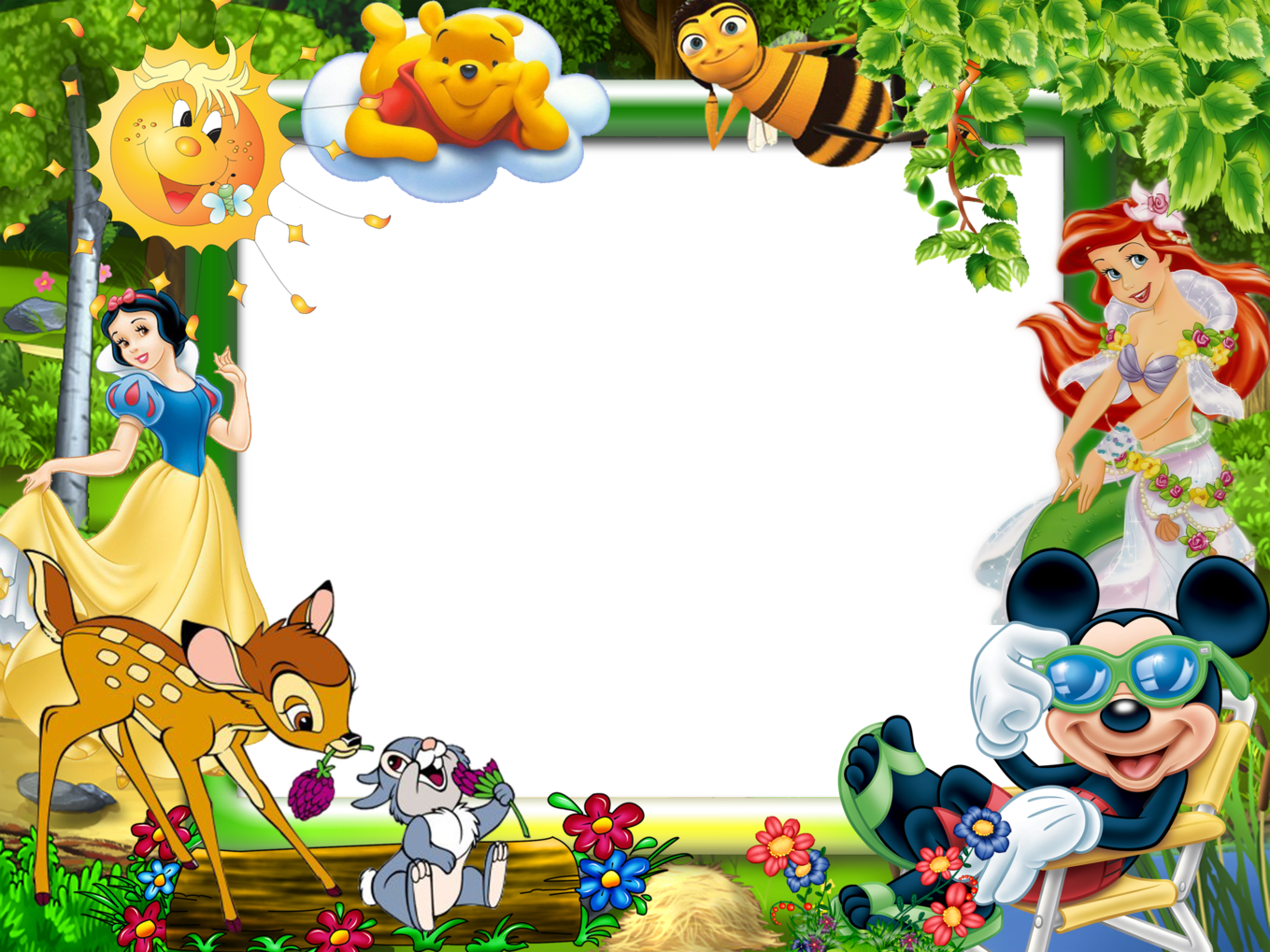 Marcos Disney Para Fotos Disney Frames Snow White Art Cute Winnie The Pooh