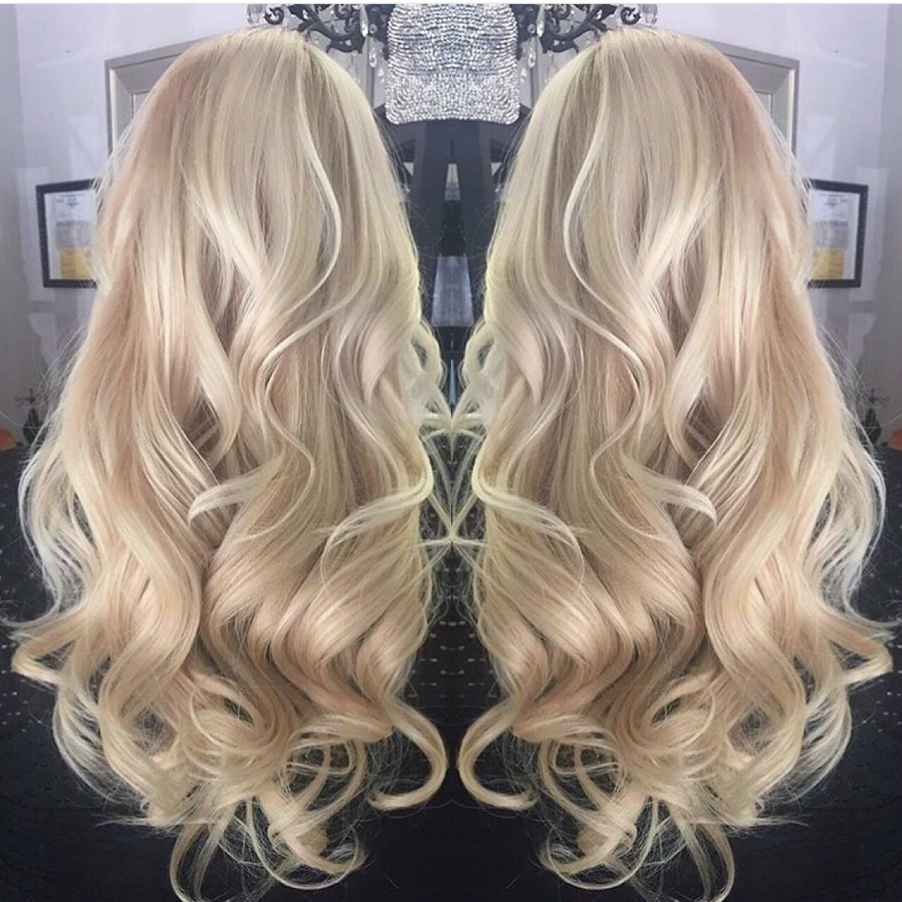 Get this beautiful hair with our Bleach Blonde