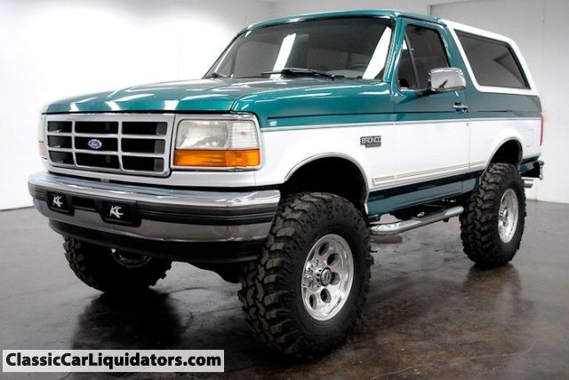 1996 Ford Bronco 4x4 Classic Car Liquidators Ford Bronco