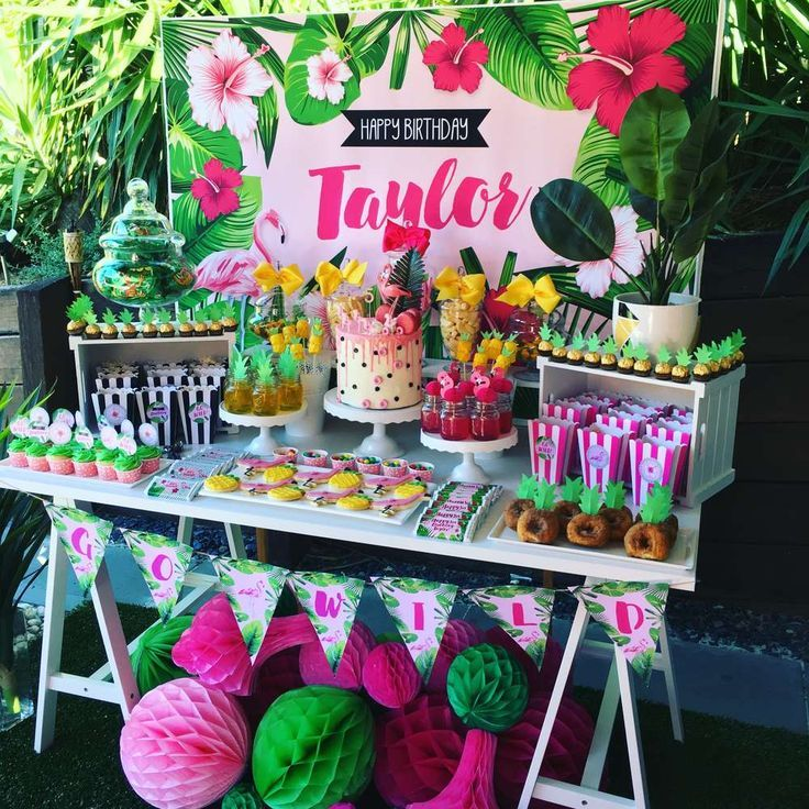 Tropical Birthday Party Ideas Tropical birthday party