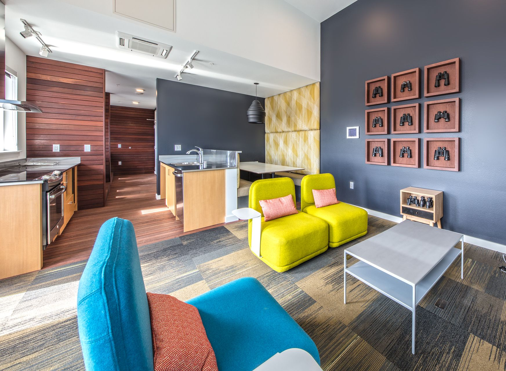 Use A Mix Of Bright Colors And Neutral Earthy Tones To Achieve A Balance In A Room Apartments For Rent Room Home Decor