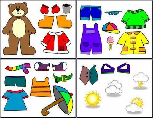 Printable Weather Bear For Preschoolers With Images