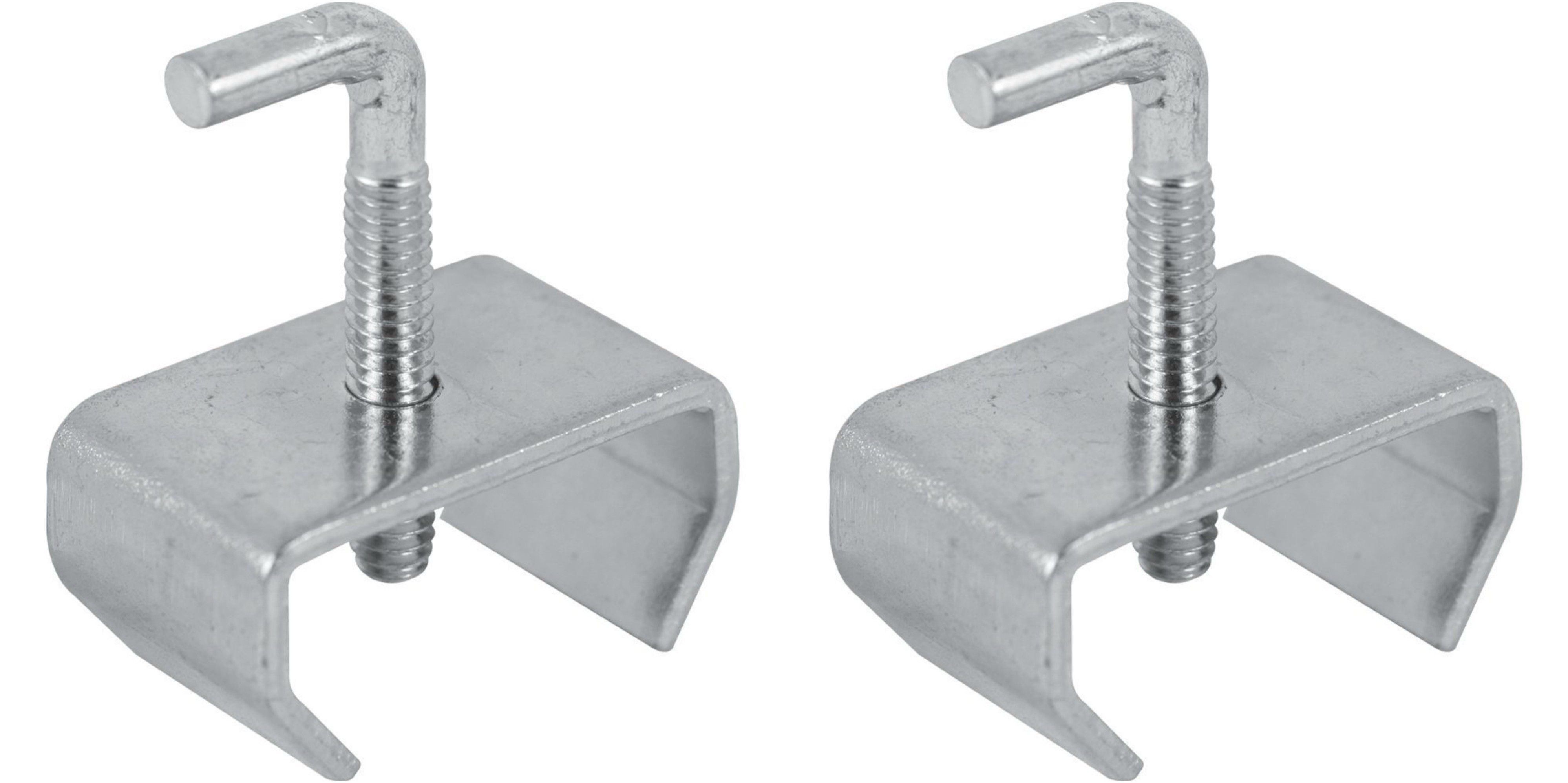 Bed Frame Rail Clamps For 114 Rails Set Of Two Bed frame