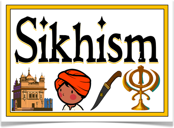 Sikhism - Treetop Displays - A set of 10 colourful A4 ...