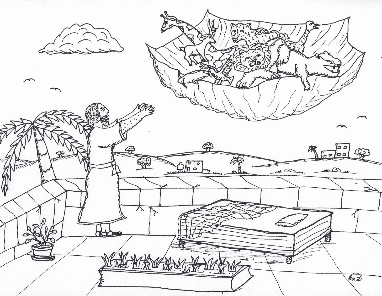 Peter and Cornelius Coloring Page New Robin S Great