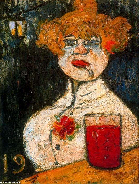 Maurice de Vlaminck (1876-1958) was een Frans kunstschilder en graficus. Hij is een belangrijk vertegenwoordiger van de schilderkunst van de 20e eeuw. Hij begon zijn loopbaan als beroepsmatig wielrenner. In 1896 stopte hij met wielrennen en ging vioolles geven. In 1905 sloot hij zich met Henri Matisse en André Derain aan bij Les Fauves (de wilden). Zijn stijl werd sterk beïnvloed door Vincent Van Gogh en Paul Cézanne.