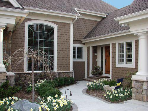 Tuape Houses Painted Cedar Siding Picutres Painted