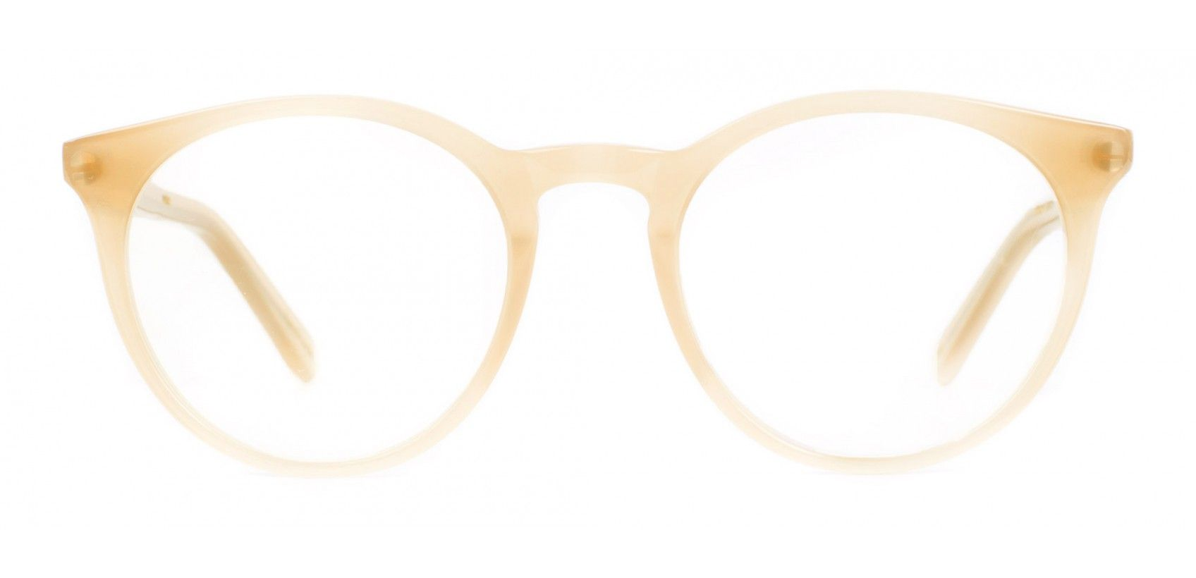 Easton Desert Camel Cream retro glasses - ace & tate #springtype #lentetype
