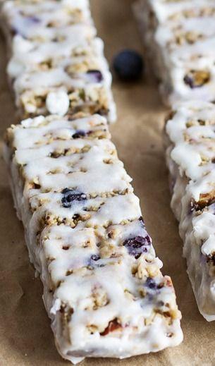 Blueberry Vanilla Greek Yogurt Granola Bars Half Baked Harvest Recipe Granola Recipe Bars Yogurt And Granola Granola Recipes