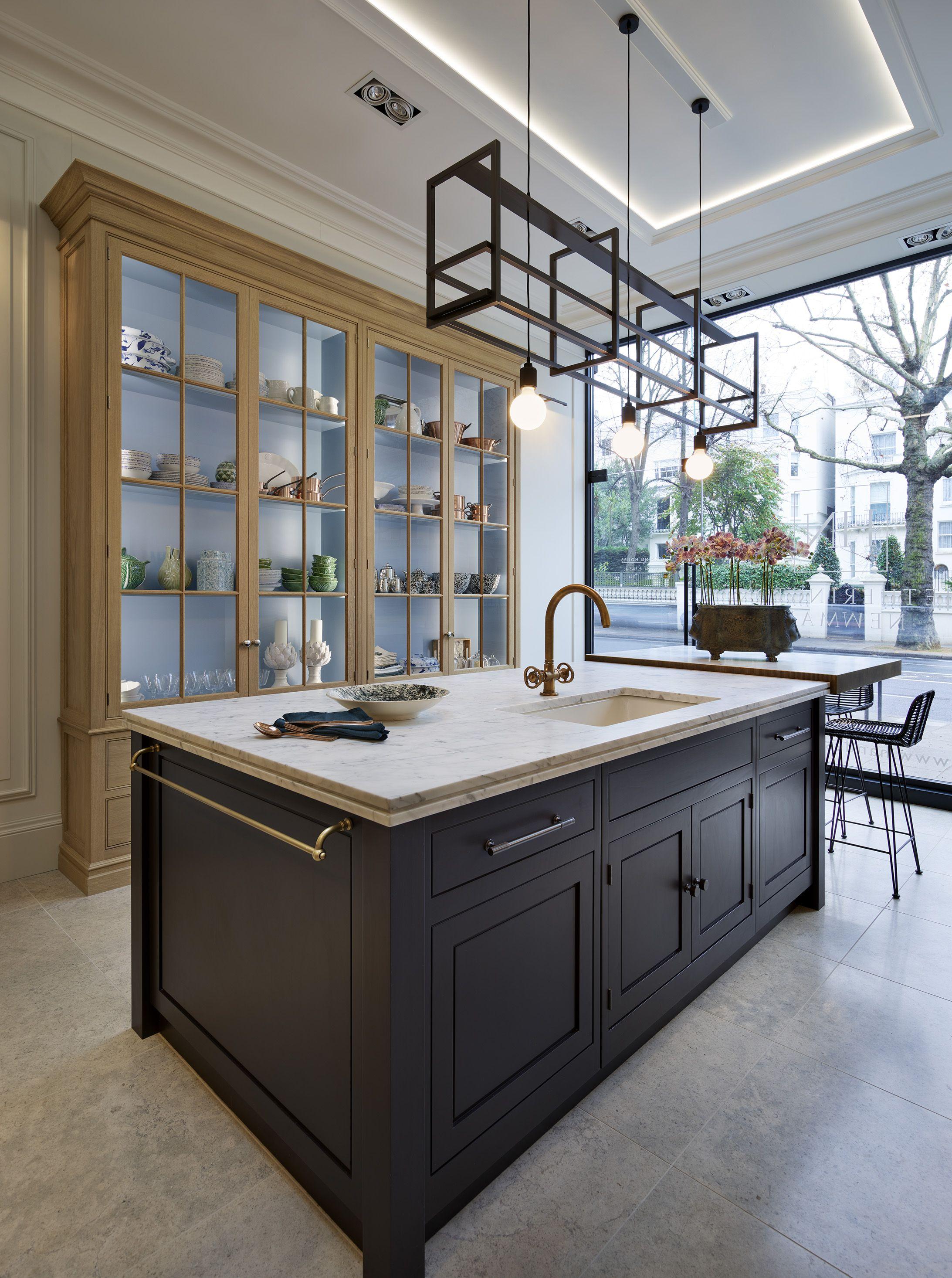 Bespoke Kitchen design at the Hetherington Newman London