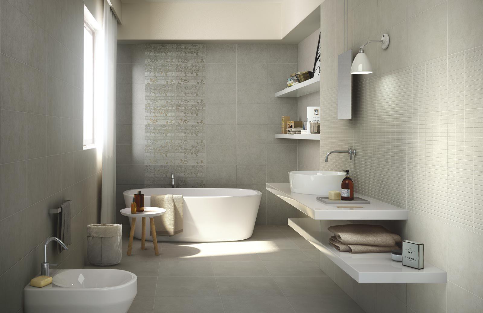 Podobny obraz łazienka bagno grigio piastrelle e
