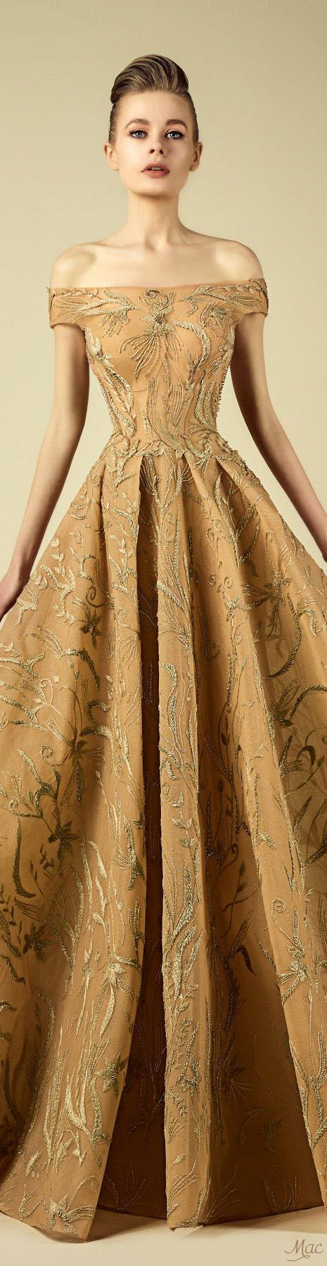 Spring 2017 Haute Couture Fadwa Baalbaki #wedding #weddingdress