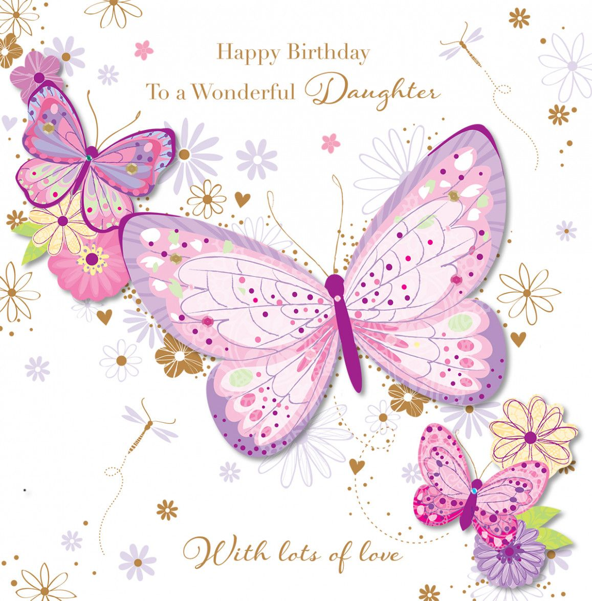 11 Best Card Happy Birthday Daughter By Ellie May Donohoe