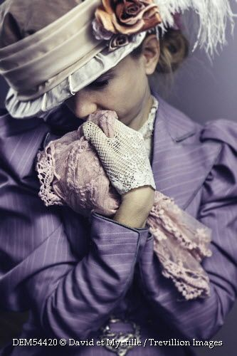 Trevillion Images - historical-woman-in-hat