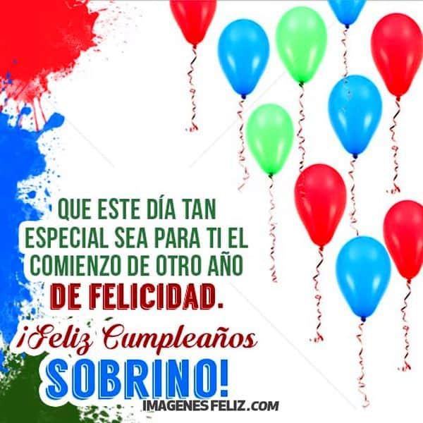 Imagenes Frases Y Mensajes De Cumpleaños Para Mi Sobrino Especial Cumple Cumpleaños Sobrina Feliz Cumpleaños Sobrino Querido Cumpleaños Felicitaciones Humor