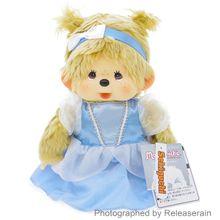 Monchhichi Fairy Tail Plush Doll Cinderella
