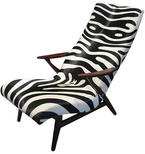 Chair Zebra U2014 Westside Modern | Mid Century Modern Furniture, Atlanta GA