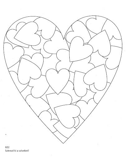 csodavarázs  Kollár Orsi  Picasa Webalbumok is part of Valentine coloring -