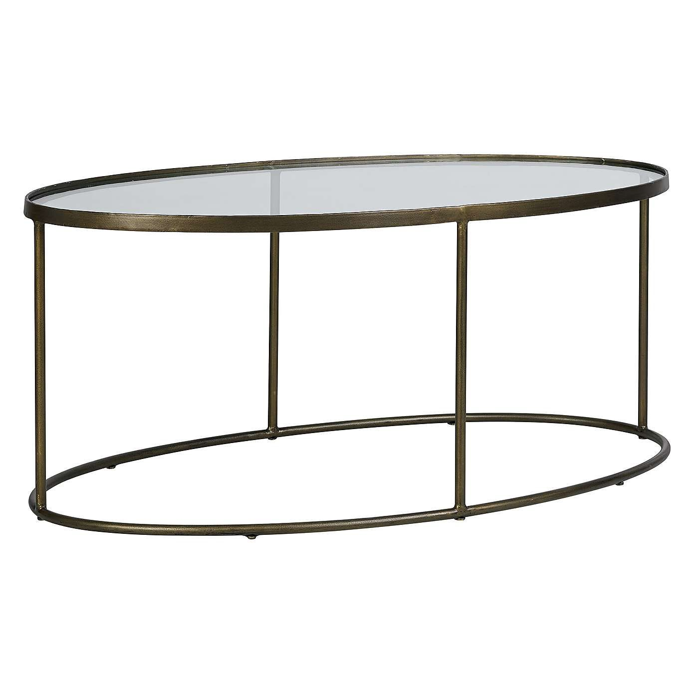 Pimlico Antique Brass Coffee Table