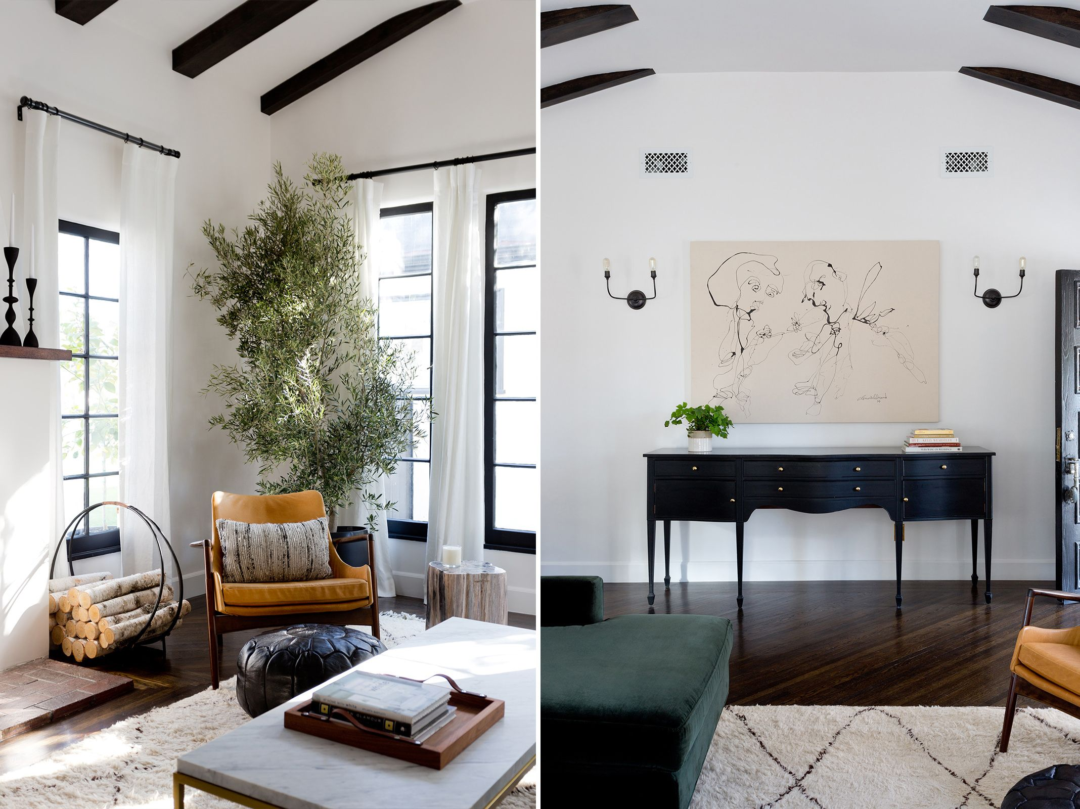 Jette Creative   Stearns Entry And Living Room. Spanish ...
