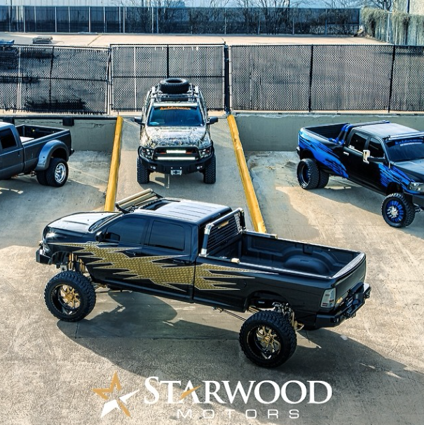 Custom Trucks w/ Kelderman Suspensions. custom starwood