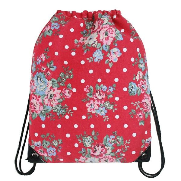 Children S Scarlet Polka Dot Fl Pe Bag Available Now On Becky Lolo